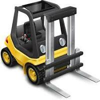 FORKLIFT OPERATORS NEEDED FOR WORK IN INGERSOLL