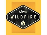Camp WildFire Kent Weekend tickets + Luxury Bell Tent + Shower Pass + Parking Space - CHEAP