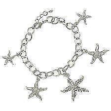 Silver Starfish Bracelet