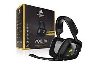 CORSAIR Gaming Headset Wireless VOID RGB 7.1 Dolby, New