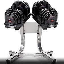 Dumbbells Bowflex 1090i heavy weights
