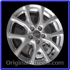 "ONE 18"" Stock Alloy Rim for 2014 Jeep Cherokee"