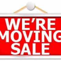 Moving Sale - May 30th - 2082 Keene Rd.