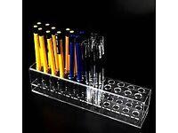 500 Perspex pencil holders