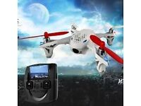 """Hubsan H107D X4 FPV 4CH 6Axis Drone Left Hand Throttle Video Transmitter 4.3""""LCD"""