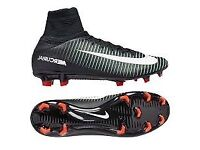 NIKE JR MERCURIAL SUPERFLY V FG FOOTBALL BOOTS SIZE 5 & 5.5 BRAND NEW IN BOX NO LID