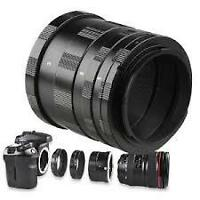 Extension Tube Rings for Canon EOS