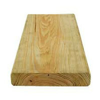 2x6 treated decking material - used