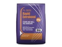 Floor and wall tile adeshive extrabond for porcelain and stone tiles