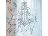 Princess Crystal Chandelier - The French Bedroom Company