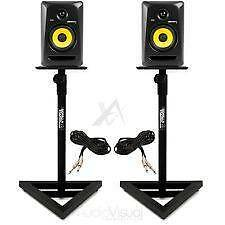 2x KRK Rokit 8 inch Monitor w/ stands Sydney City Inner Sydney Preview