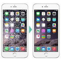 iPhone Screen Replacement starting at $39.99 + FREE Protector!!