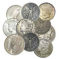 Silver canadian or usa dollar coins -bullion- Paying Above Spot