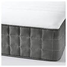 IKEA -HAFSLO spring mattress, single 3 months old , like new.