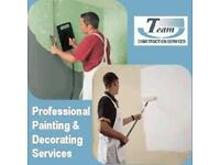 Laminate Floor 8£ / Engineered Floor 12£ m2 Installation and Painting & Decorating Service