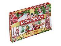 CHRISTMAS MONOPOLY SET