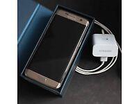 SAMSUNG S7 EDGE gold platinum unlocked like new condition