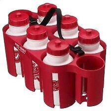 Sports team water bottles with carrier