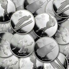 Canada 1 oz Silver Proof Coins - Spot + $1.25