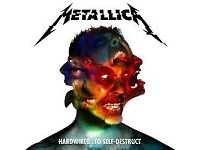 2x Metallica Tickets - Manchester Arena - Sat 28th October 7.30pm