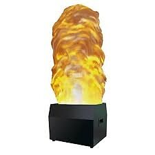 New In Box, Black Vesuvio 2 Flame Light Featuring a Large 1.4 m High Silk.