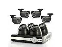 all new hd ahd ip tvi cvi cctv cameras full system