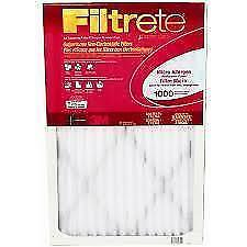Filtrete Micro Allergen Reduction Filter, 1000 MPR, 20x25x1