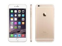 Apple iPhone 6 Factory unlocked, 4G and Good Conditions GOLD
