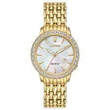 Citizen Womens Classic Ladies Diamond EW2282-52D Wrist Watches
