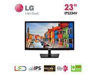"""Quality 23"""" LG IPS monitor - Full HD"""
