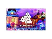 Budafest x2 tickets for sale