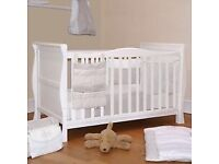 Mamas&Papas cot/toddler bed +mattress