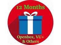 Openbox 12 Month Gift - 100% Guarantee