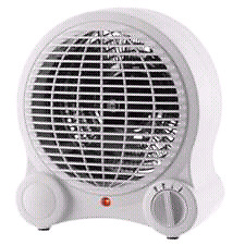 brand new portable fan heater(box not open or either used)