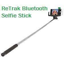 Weekly Promo! RETRAK BLUETOOTH SELFIE STICK MONOPOD – BLACK