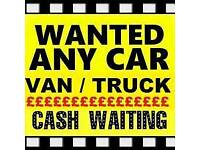 Wanted all scrap cars vans and lorries