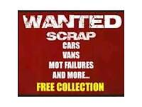 Scrap / used cars wanted