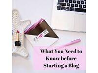BEGINNERS INC - HOW TO START A BLOG