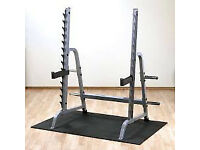 Body Solid Home or Commercial Multi-Press/Squat Rack