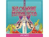 X2 Student tickets for IOW Festival Including camping