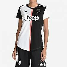19/20 Juventus Home Black and White Women football jersey M & L size