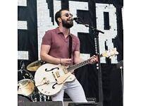 Liam Fray Acoustic Tour Leeds O2 Arena 2nd Nov 2017