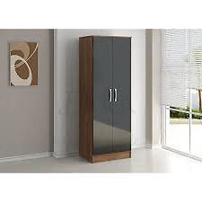 """Birlea 2 door wardrobeBlack and Walnutin Aston, West MidlandsGumtree - Brand new. get in touch if you have any questions. """"Height 196cm Width 70cm Depth 52cm"""" can deliver any day for £15"""