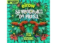 elrow glasgow SWG3 concert ticket, 18th of march
