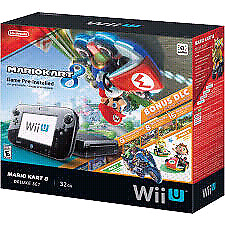 Bargain wii u console and so much more! Lots of games...