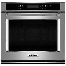 KitchenAid Single Wall Ovens KOSE500ESS  (KA638)