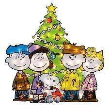 peanuts christmas decorations - Peanuts Christmas Lawn Decorations