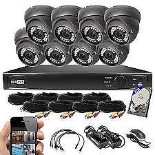 hd cctv security kit system camera ahd