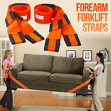 Lifting & Moving Straps Forearm Forklift®