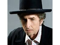 bob dylan and his band best seats echo arena front block